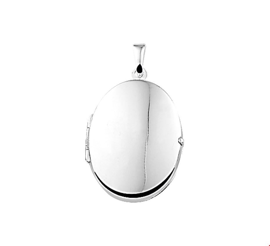 TFT Medaillon Zilver Glanzend 22,5 mm x 16,0 mm