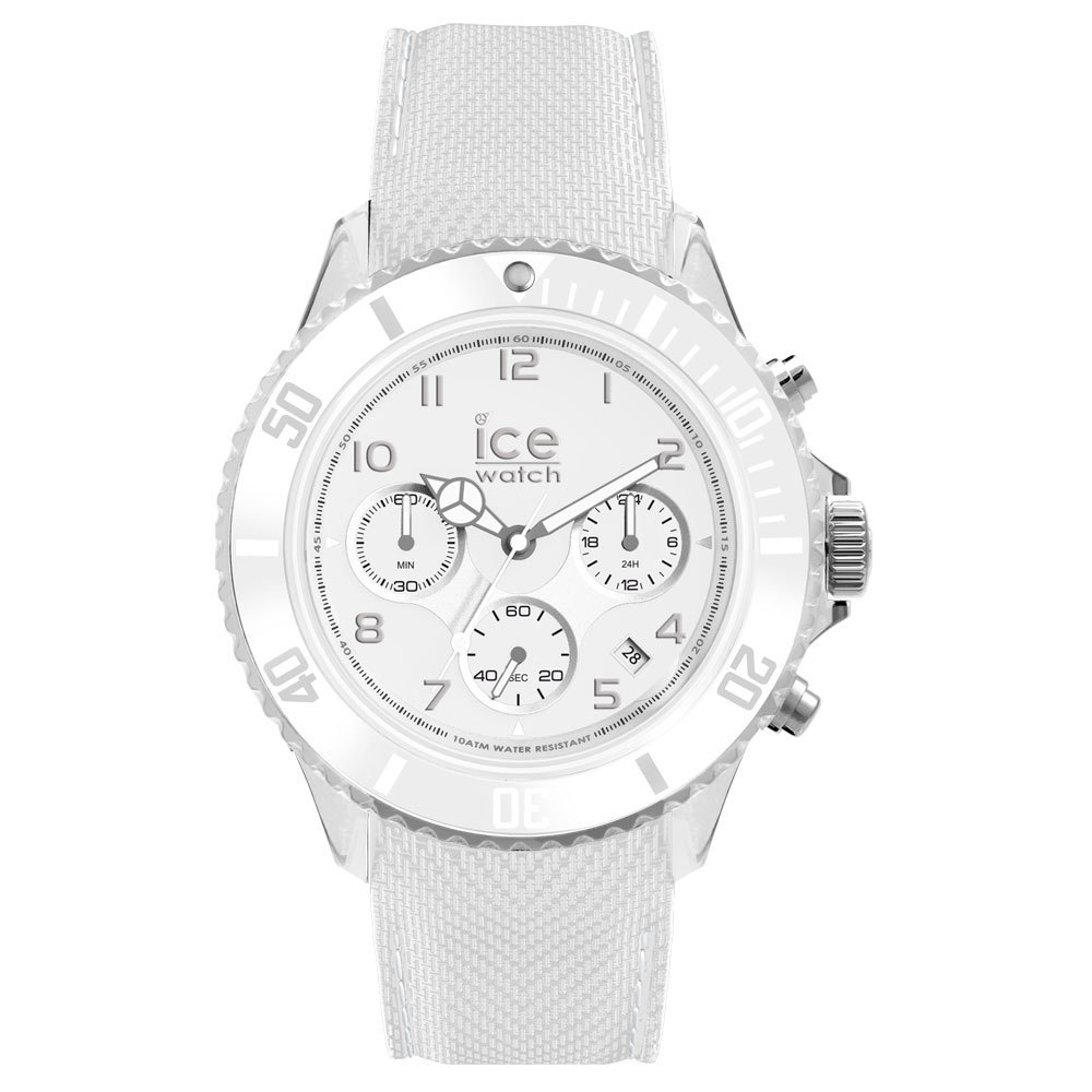 Ice-Dune Chrono Large White Horloge
