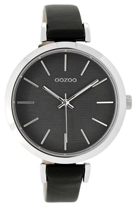 OOZOO Horloge Timepieces black grey 40 mm C9139
