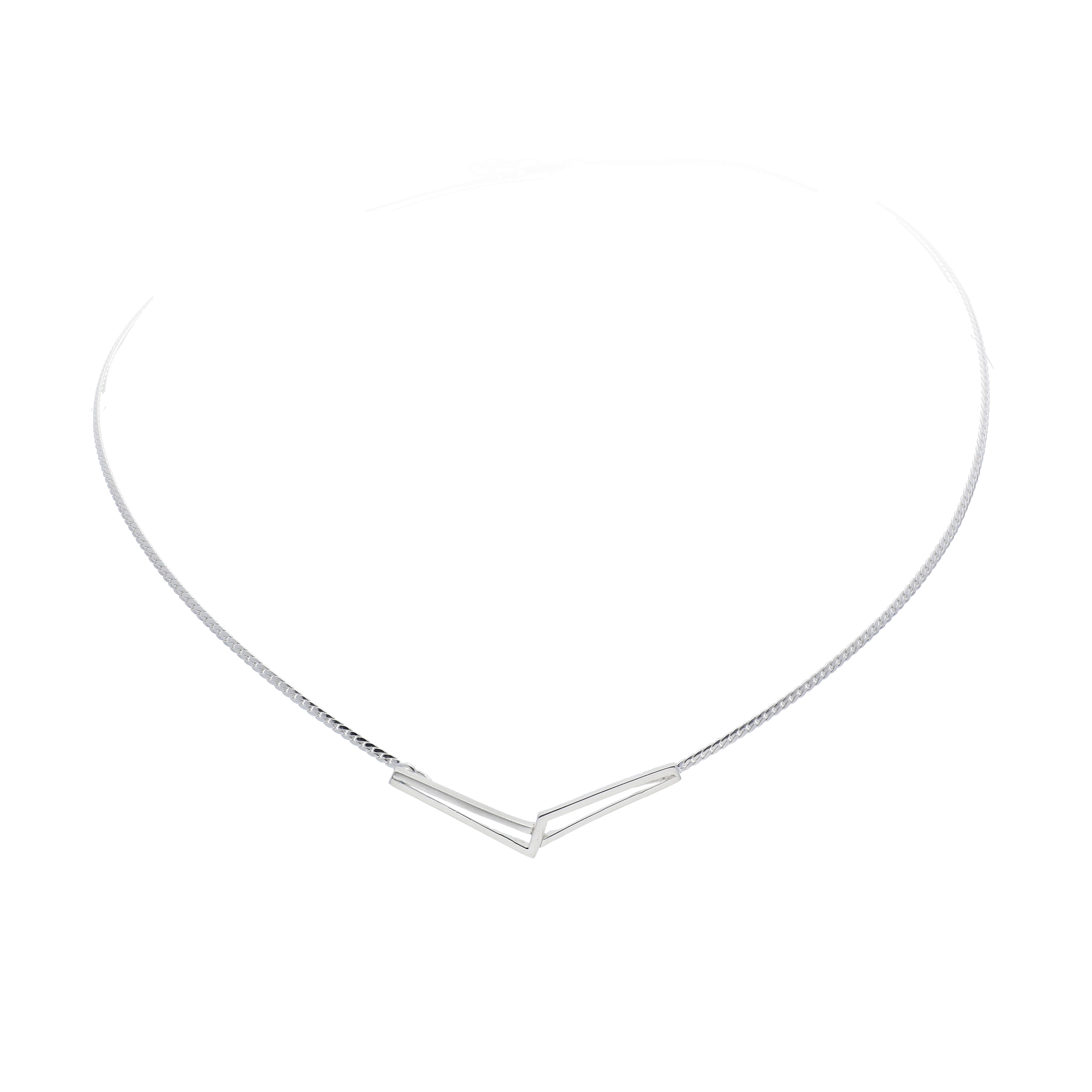 Afbeelding van Best Basics Ketting zilver met tussenstuk 103.0717.45