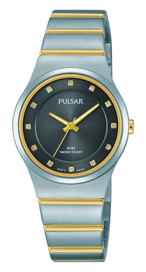 Pulsar Dameshorloge Goud- en zilverkleurig PH8171X1