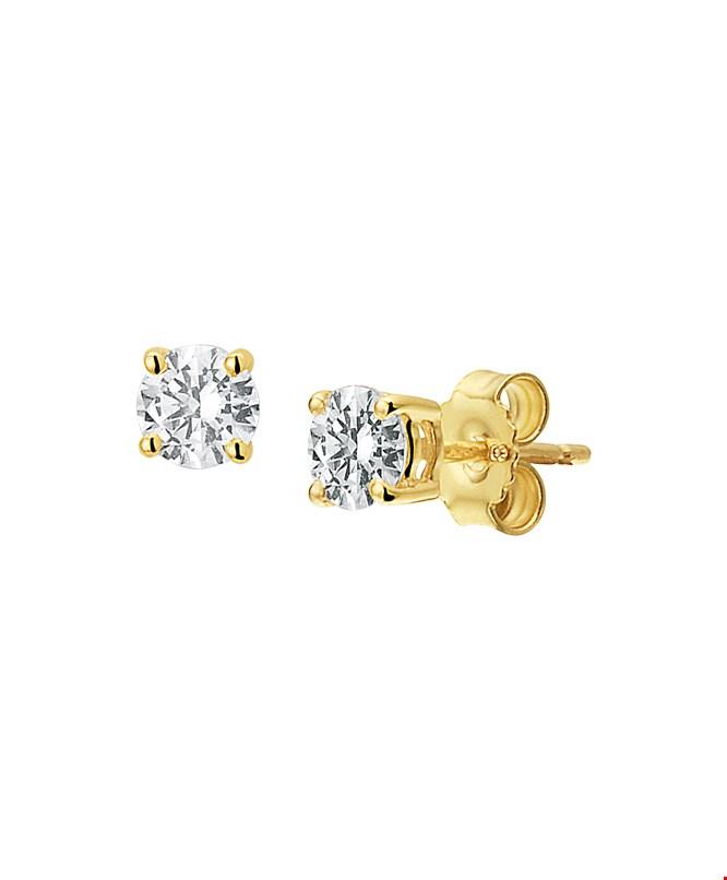 Selected Jewels gouden oorstekers