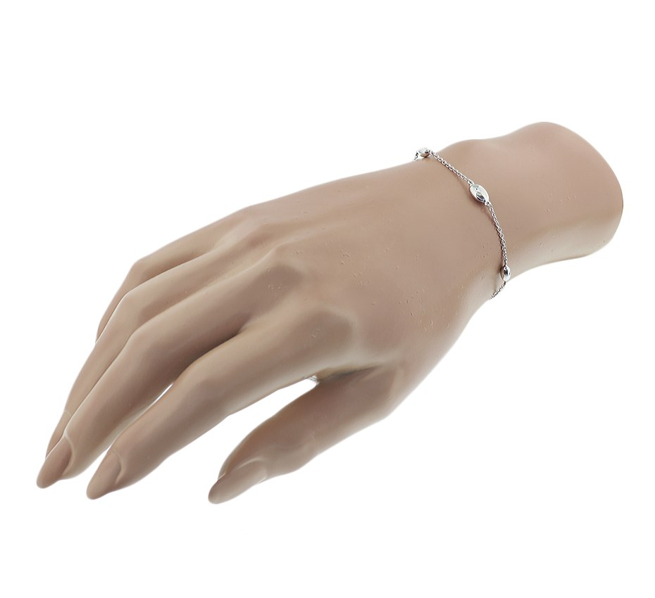 TFT Armband Zilver Ovaaltjes 1,4 mm 17 + 3 cm