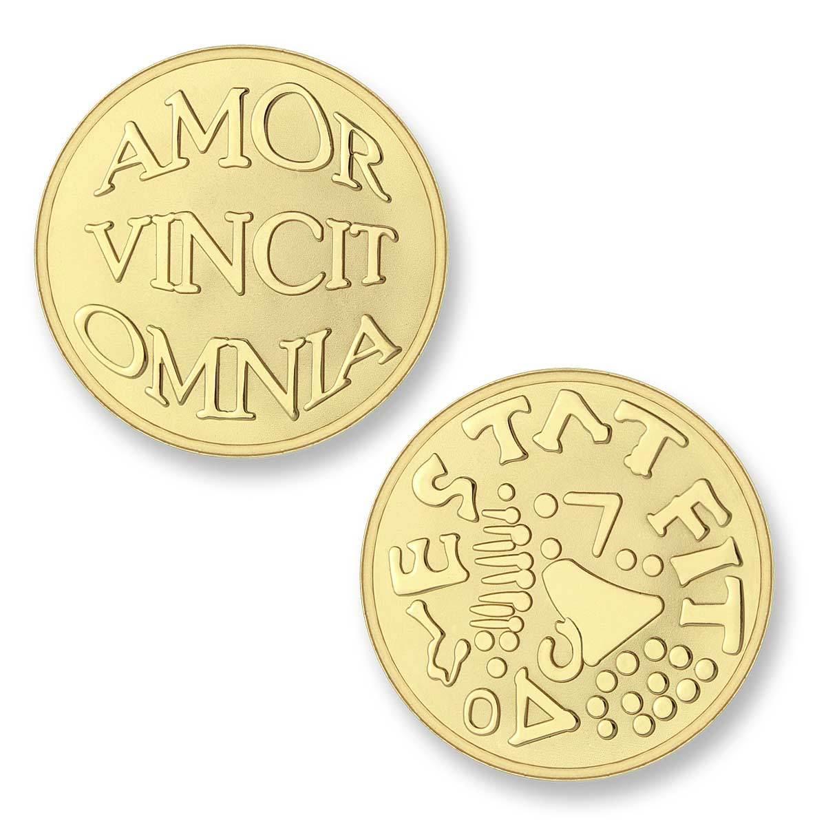 Mi Moneda Munt Shiny Goud Mio-AVO Medium