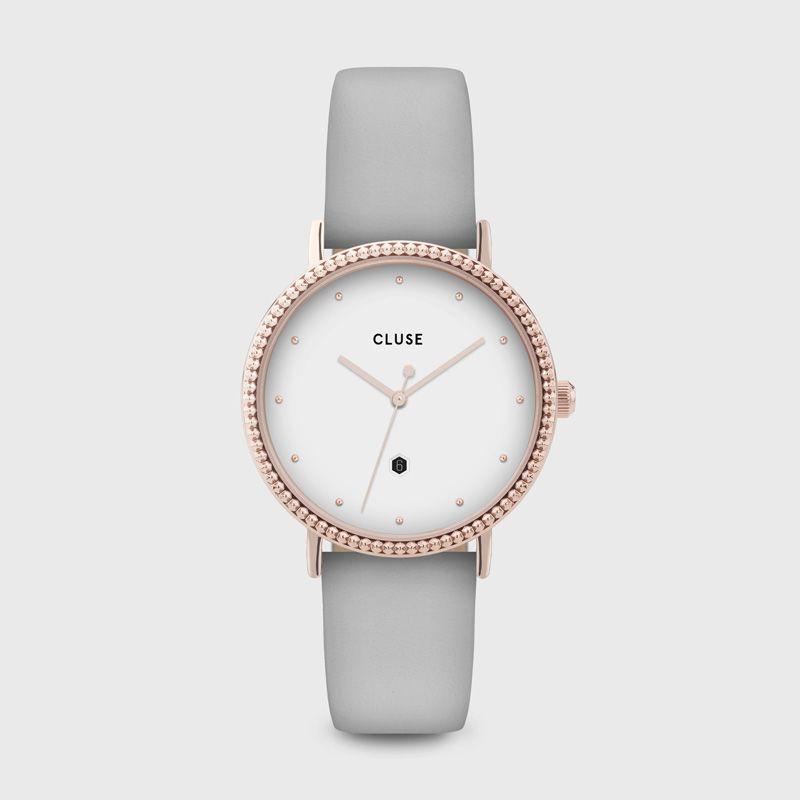 CLUSE CW0101209001 Horloge Le Couronnement rosekleurig-grijs 34 mm