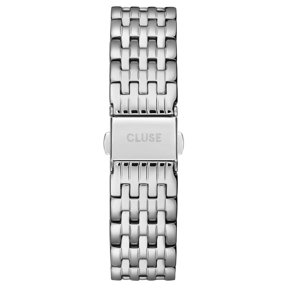 CLUSE CS1401101078 Horlogeband staal zilverkleurig 18 mm