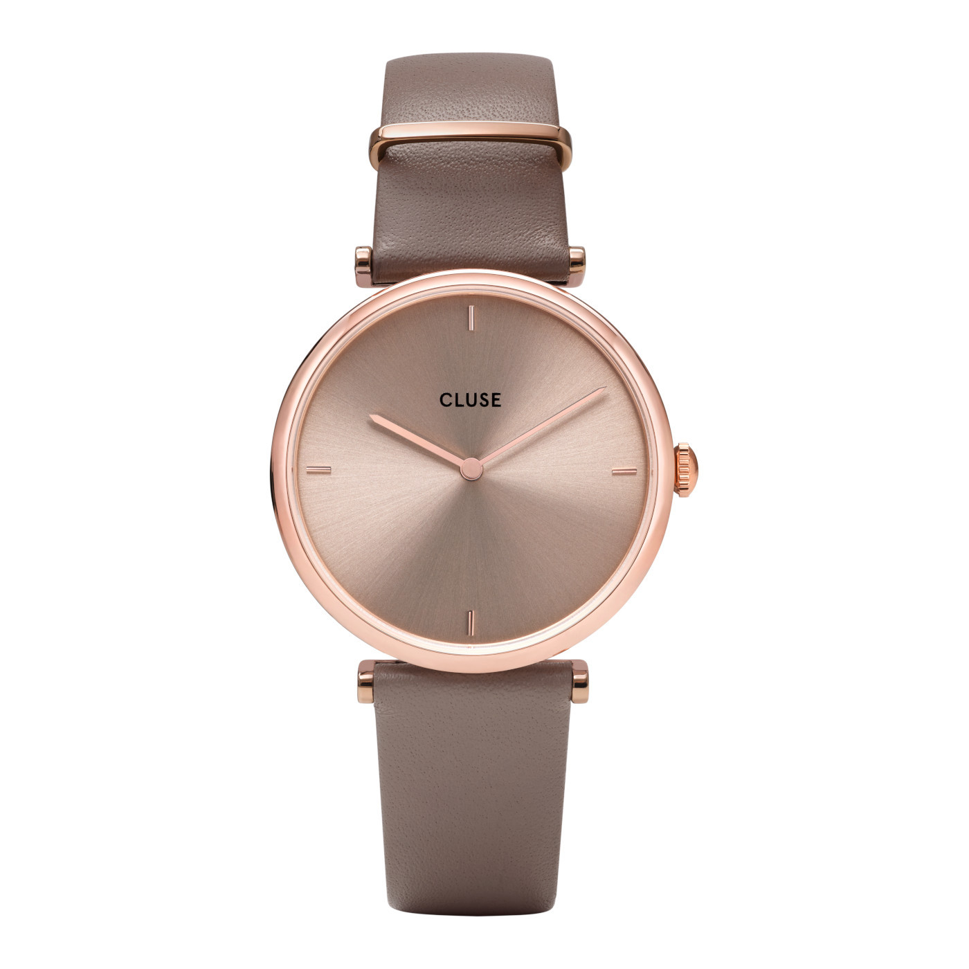CLUSE CW0101208010 Horloge Triomphe Rosegold Soft Taupe 33 mm
