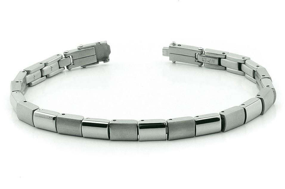 Boccia 0313-01 Armband Titanium 21 cm