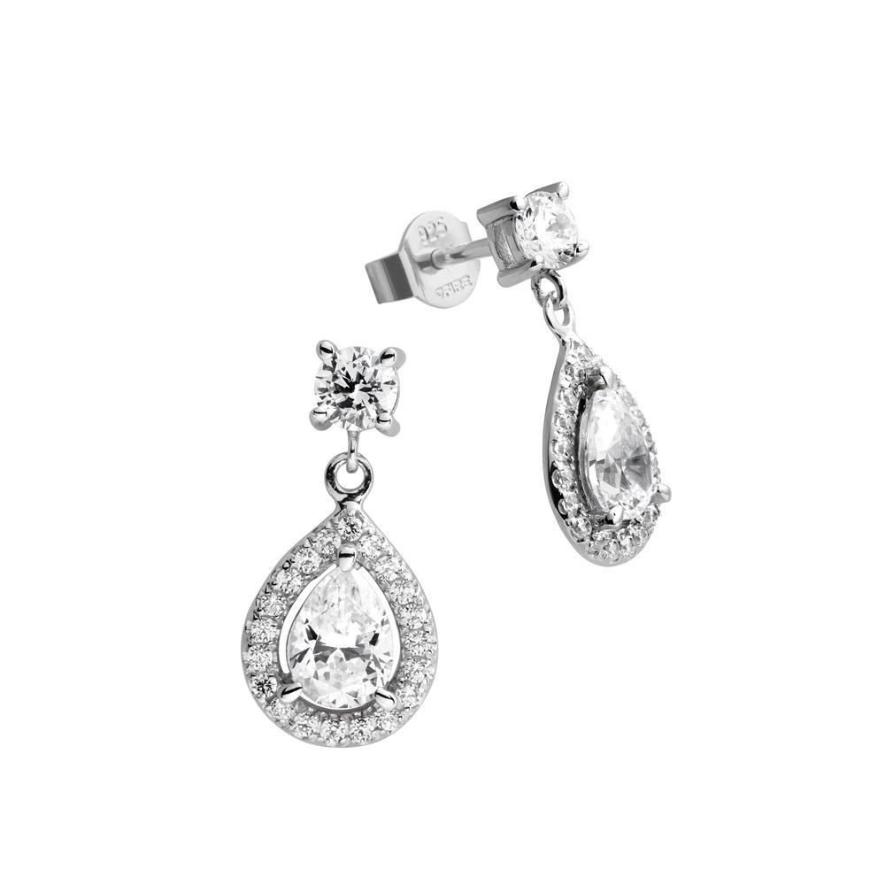 Diamonfire Oorbellen Bridal zilver 808.0161.00