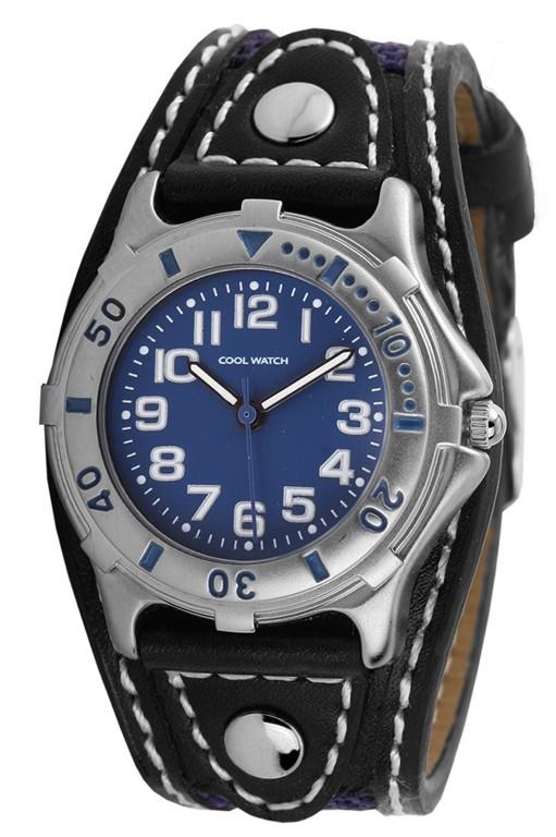 Coolwatch kinderhorloge 'Sport Blue' zwart-blauw CW.158
