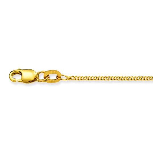 Glow Gouden Ketting Gourmet 38 cm 1.2 mm breed 201.0238.21