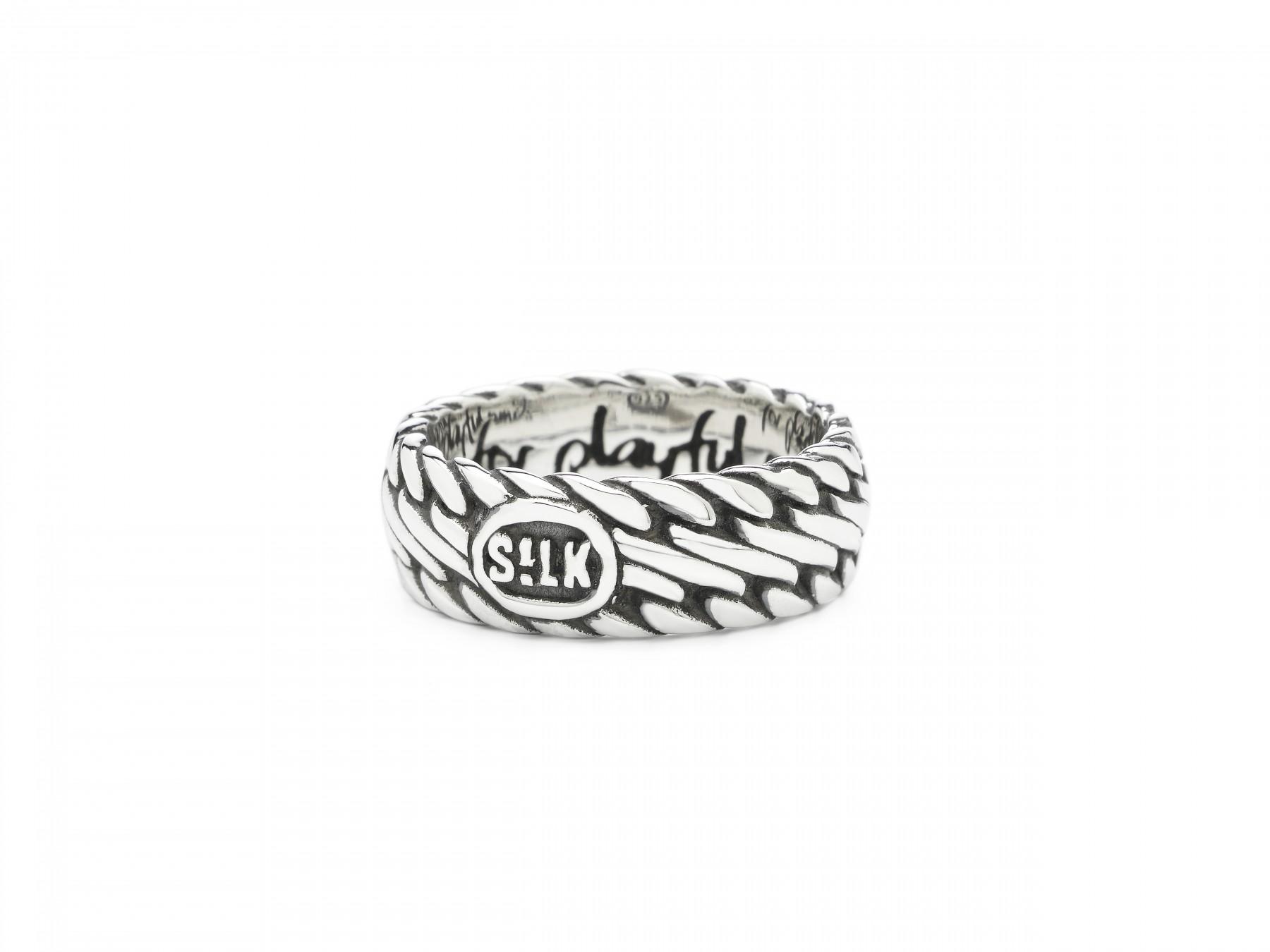 Silk Jewellery 161-18 Ring zilver Maat 57 is 18 mm