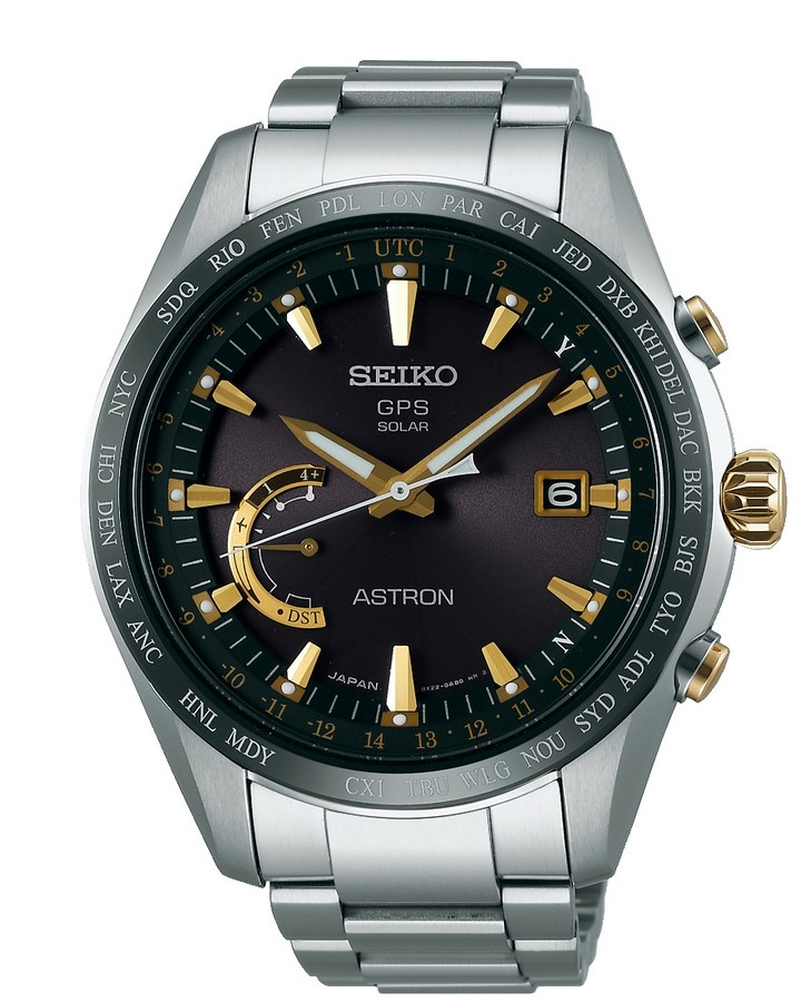 Seiko Astron Solar GPS SSE087J1 Heren horloge
