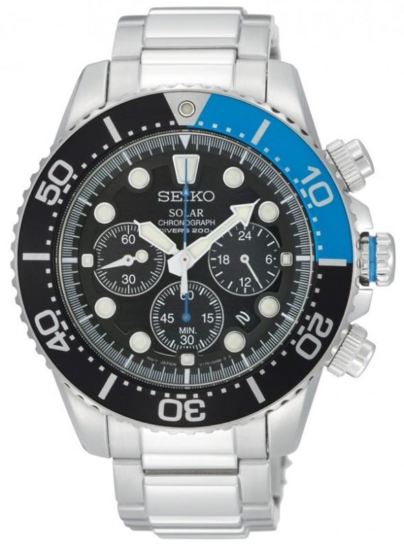 Seiko SSC017P1 Prospex Sea Solar horloge