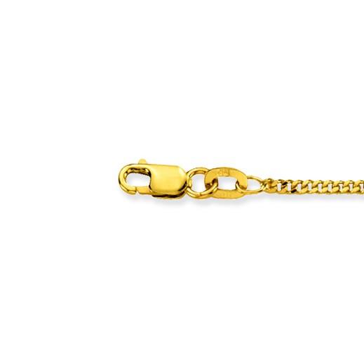 Glow 201.0460.47 Gouden Ketting gourmet 60 cm 1.6 mm