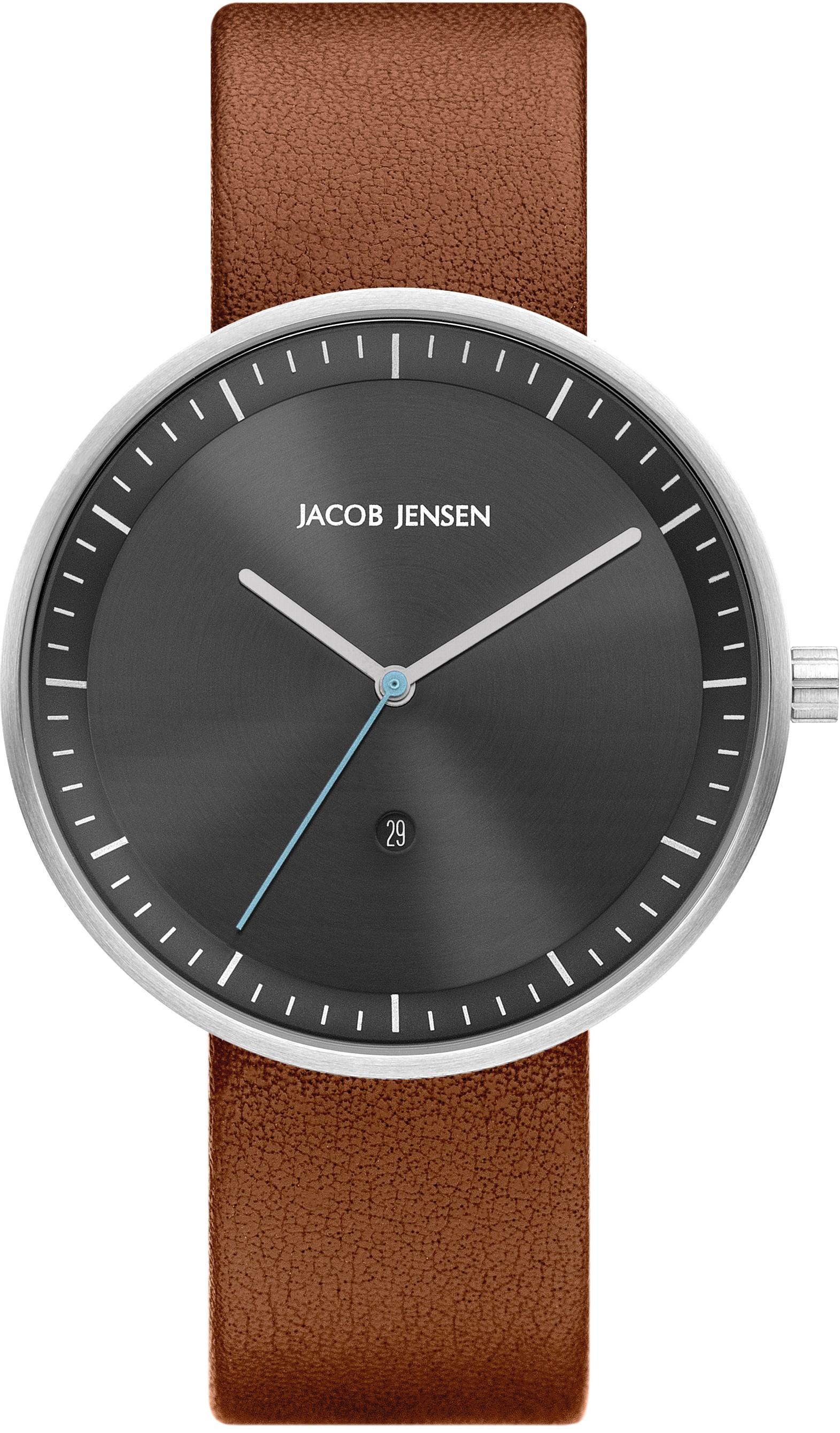 "Watch 275 Stainless Steel Jacob Jensen ""strata"" Horloge"