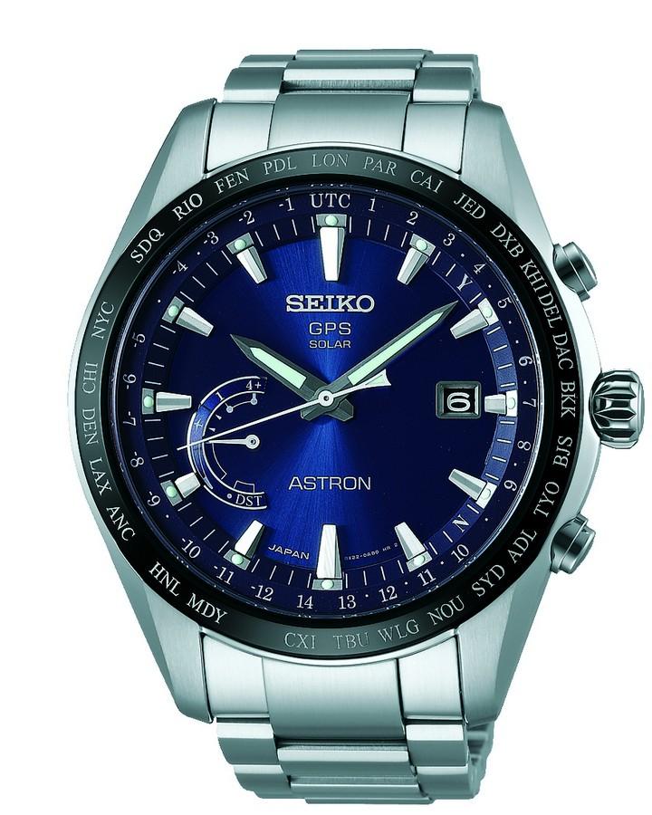 Seiko Astron Horloge Astron Heren Analoog Zilverkleurig SSE109J1