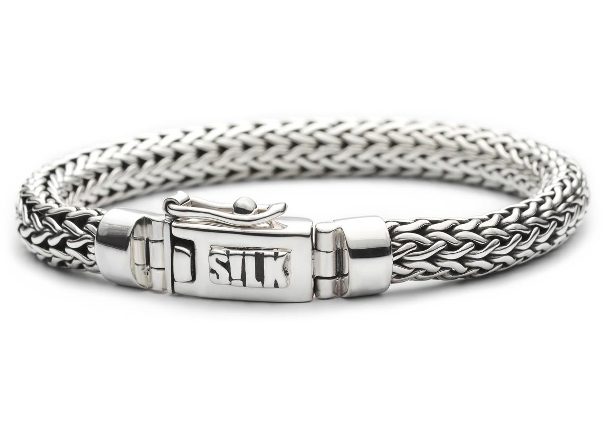SILK Jewellery Armband zilver 'Shiva' 21 cm 304