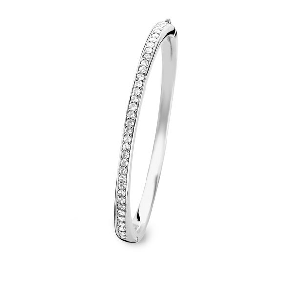 Ti Sento- Milano 2298ZI Armband bangle zilver met zirconia