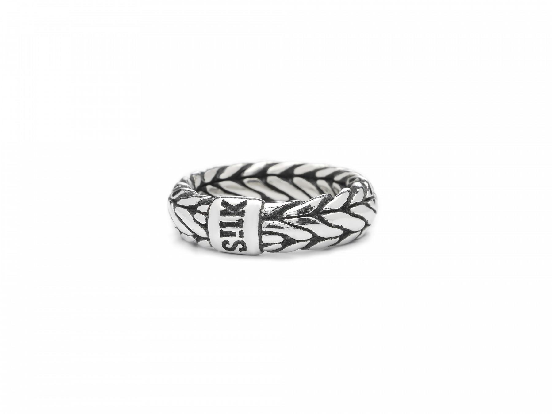 Silk Jewellery 352-18,5 Ring zilver Maat 58 is 18.5mm