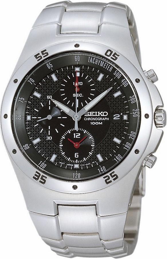Seiko Herenhorloge chronograaf SND417P1