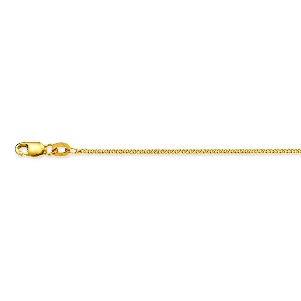 Glow Gouden Ketting gourmet 1.2 mm 38 cm 201.0238.18