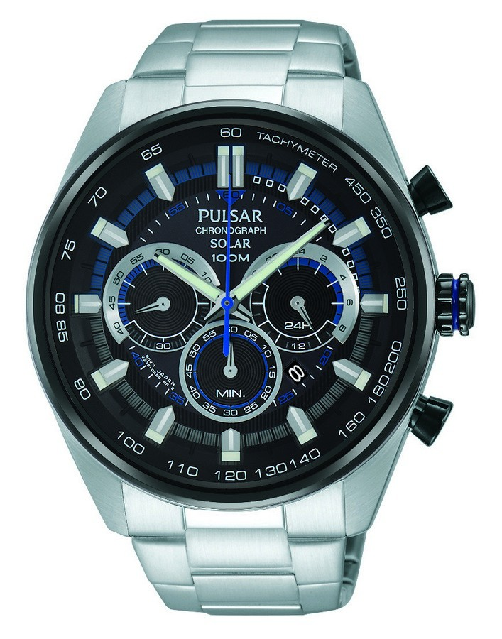 Pulsar PX5019X1 TV-Model 2015 Herenhorloge Chronograaf Solar