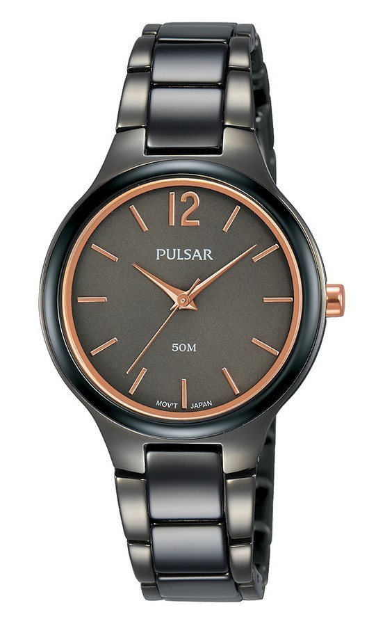 Pulsar dameshorloge Quartz Analoog 30 mm PH8435X1