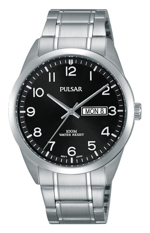 Pulsar Herenhorloge Zwarte wijzerplaat PJ6063X1