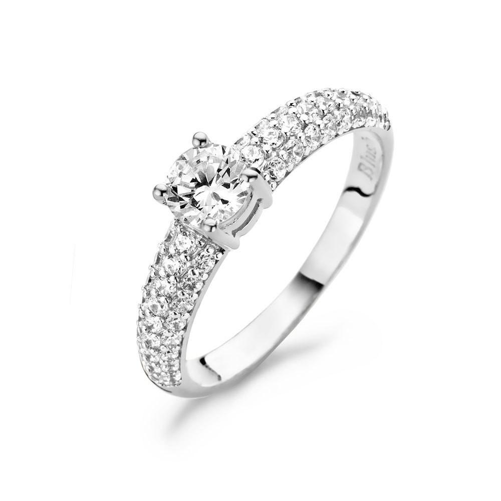 Blush 1135WZI witgouden ring met zirkonia Maat 56 is 17.75mm