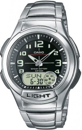 Casio Horloge Analoog-Digitaal AQ-180WD-1BVES