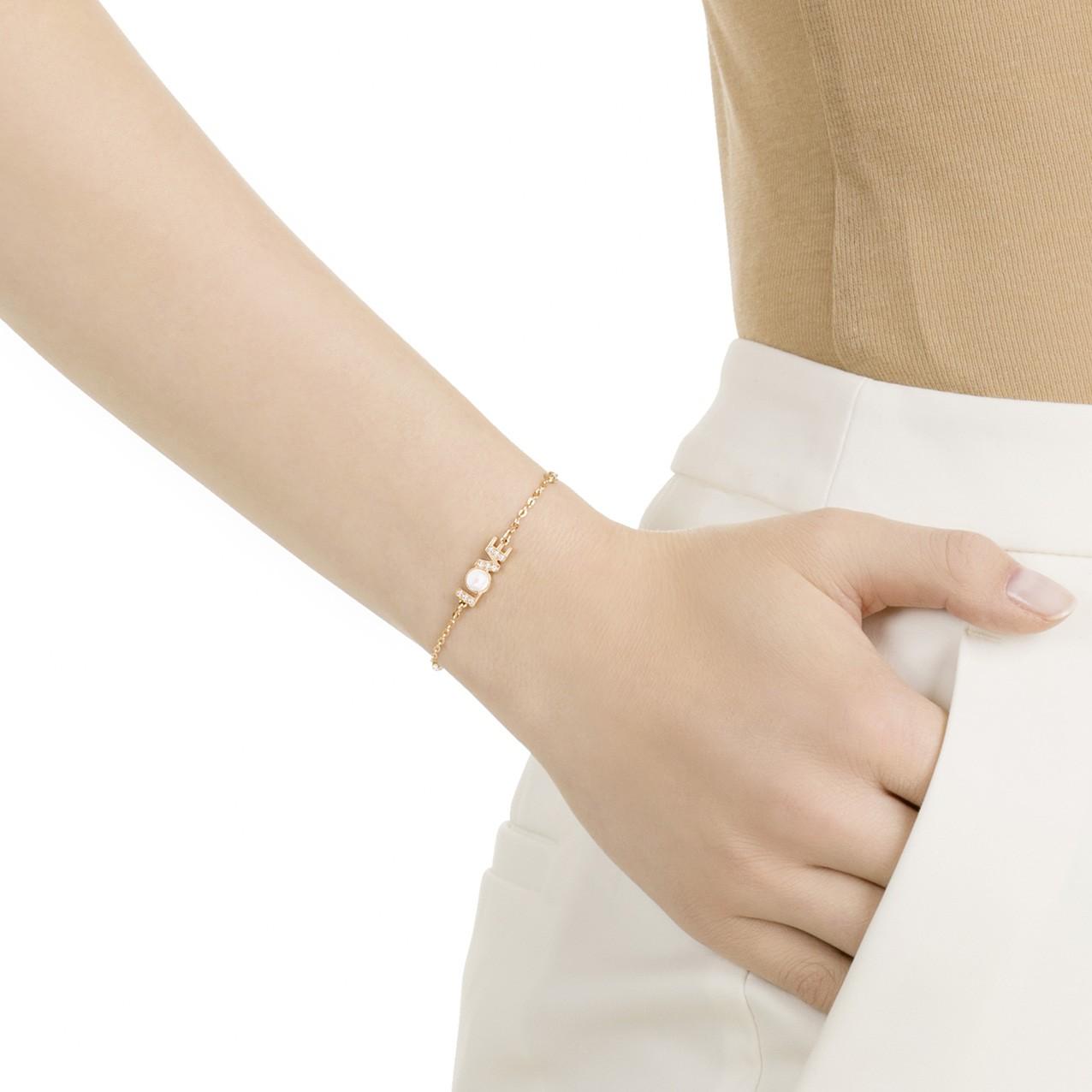 Swarovski Armband Remix Collection Love 17,5 cm 5353846