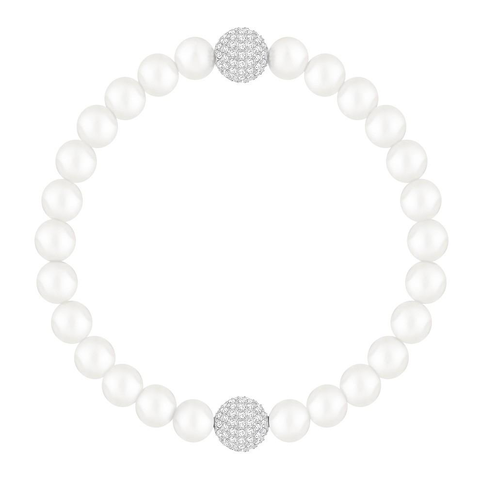Swarovski Armband Remix Collection Crystal Pearl White 17,5 cm 5365736