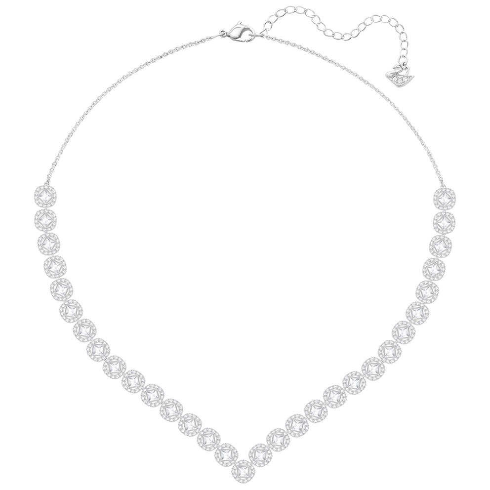 Swarovski Ketting Angelic Square White-Silver 5368145