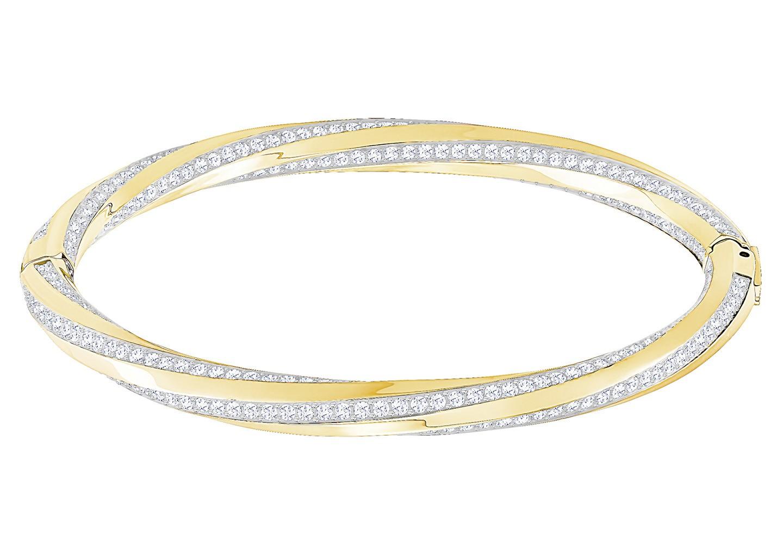 Swarovski Armband Hilt Bangle goudkleurig L 5372859