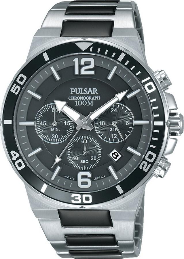 Pulsar PT3799X1 Heren Chronograaf horloge
