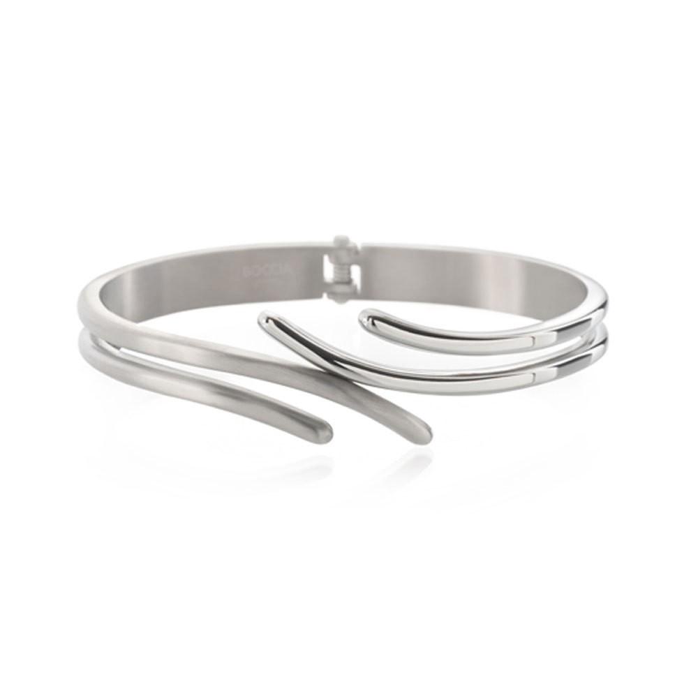 Boccia Titanium 0396-01 Armband met scharnier