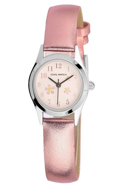 Coolwatch kinderhorloge 'Little Flower' roze CW.152