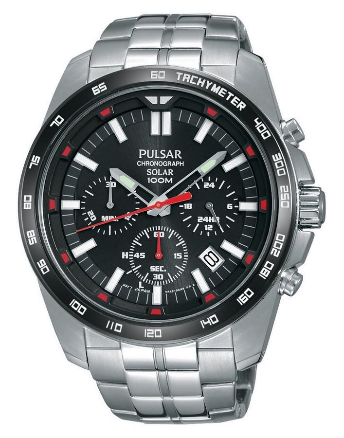 Pulsar PZ5005X1 Heren Chronograaf Solar horloge