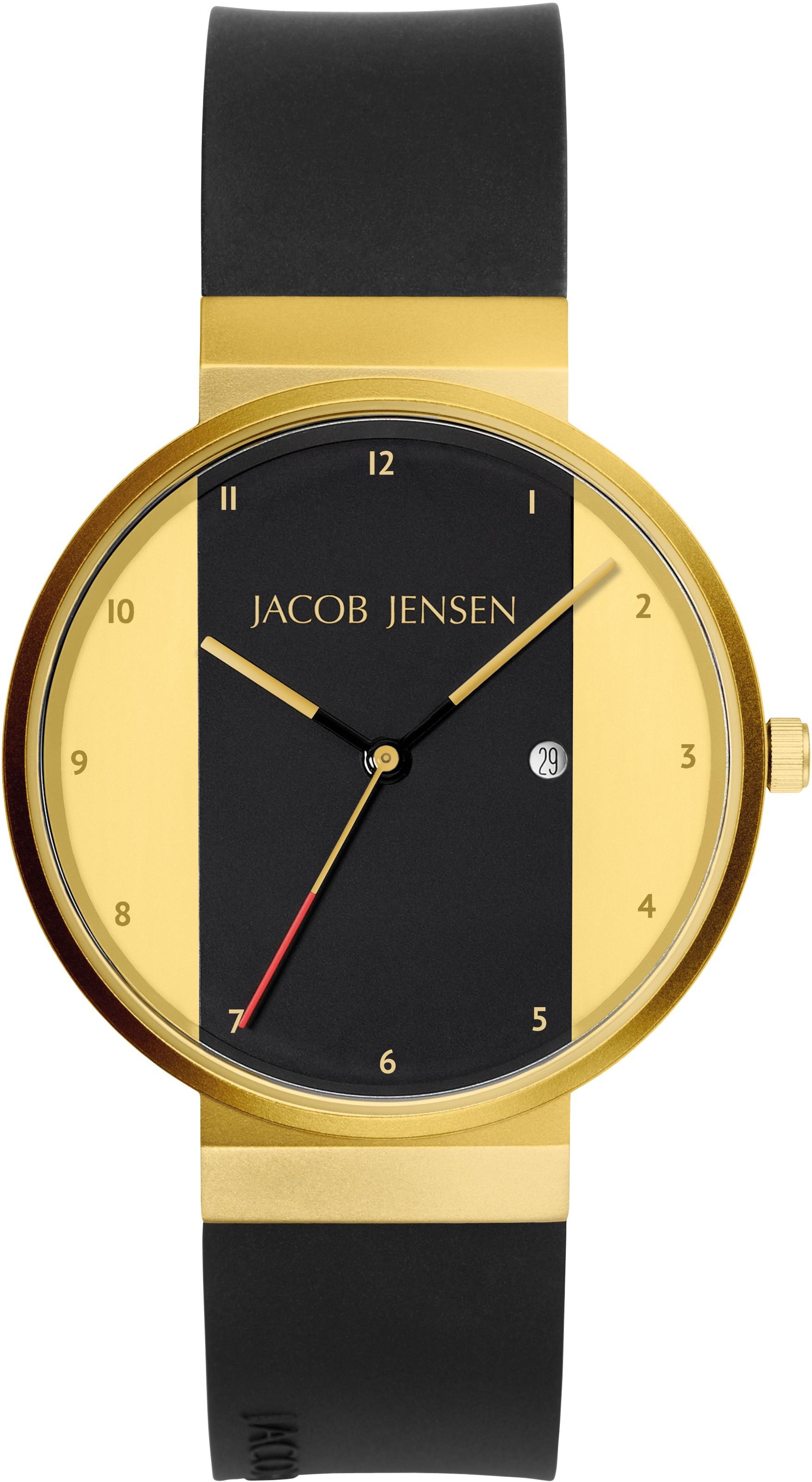 "Watch 734 Stainless Steel Jacob Jensen ""new Line"" Horloge"
