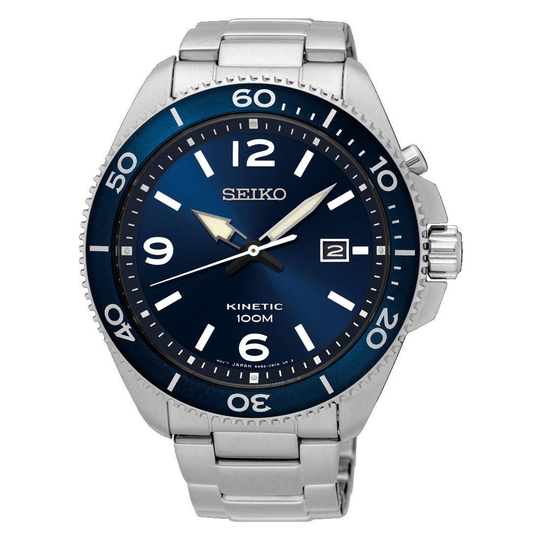 Seiko SKA745P1 Heren kinetisch horloge