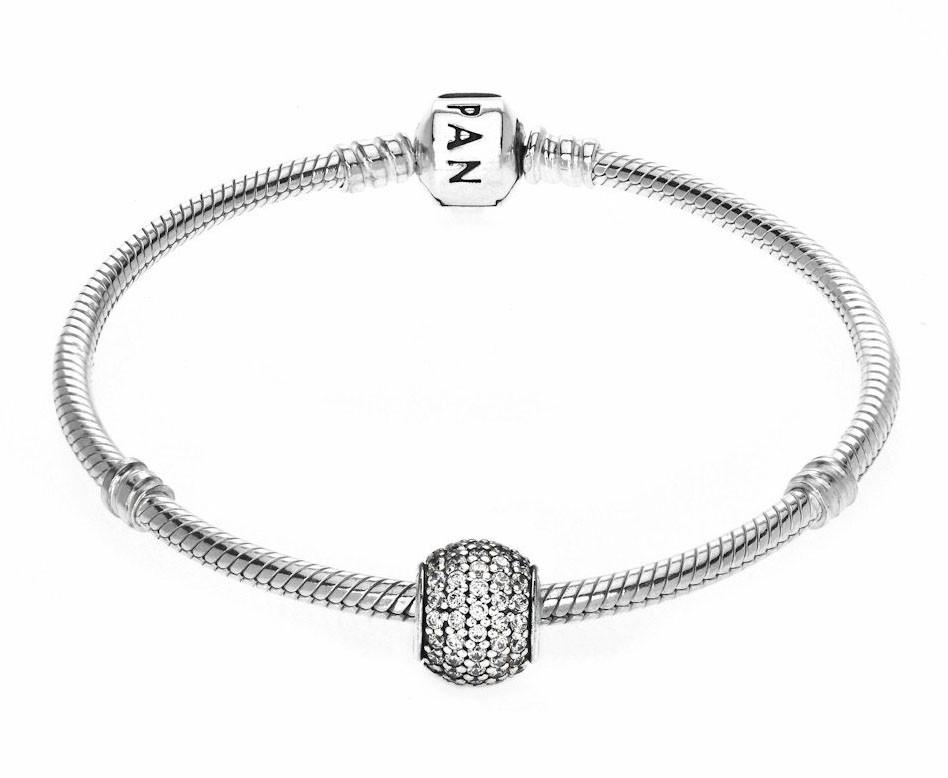 Pandora Bedel zilver 'Zirkoniabol' 791051CZ