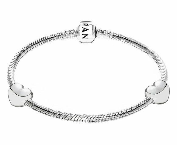 Pandora bedel Clip-stopper zilver 'Hartje' 791279