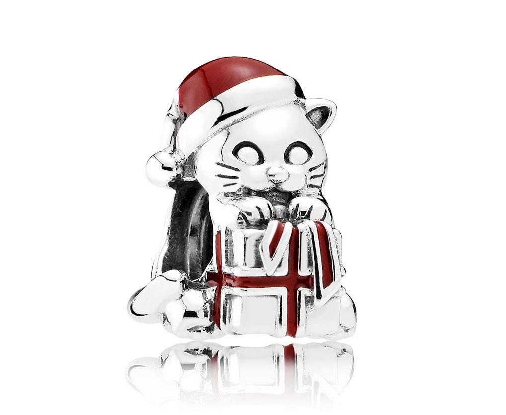Pandora Bedel Kerst-kat 792007EN39