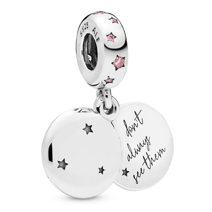 Pandora 798012FPC Hangbedel zilver Forever Sisters