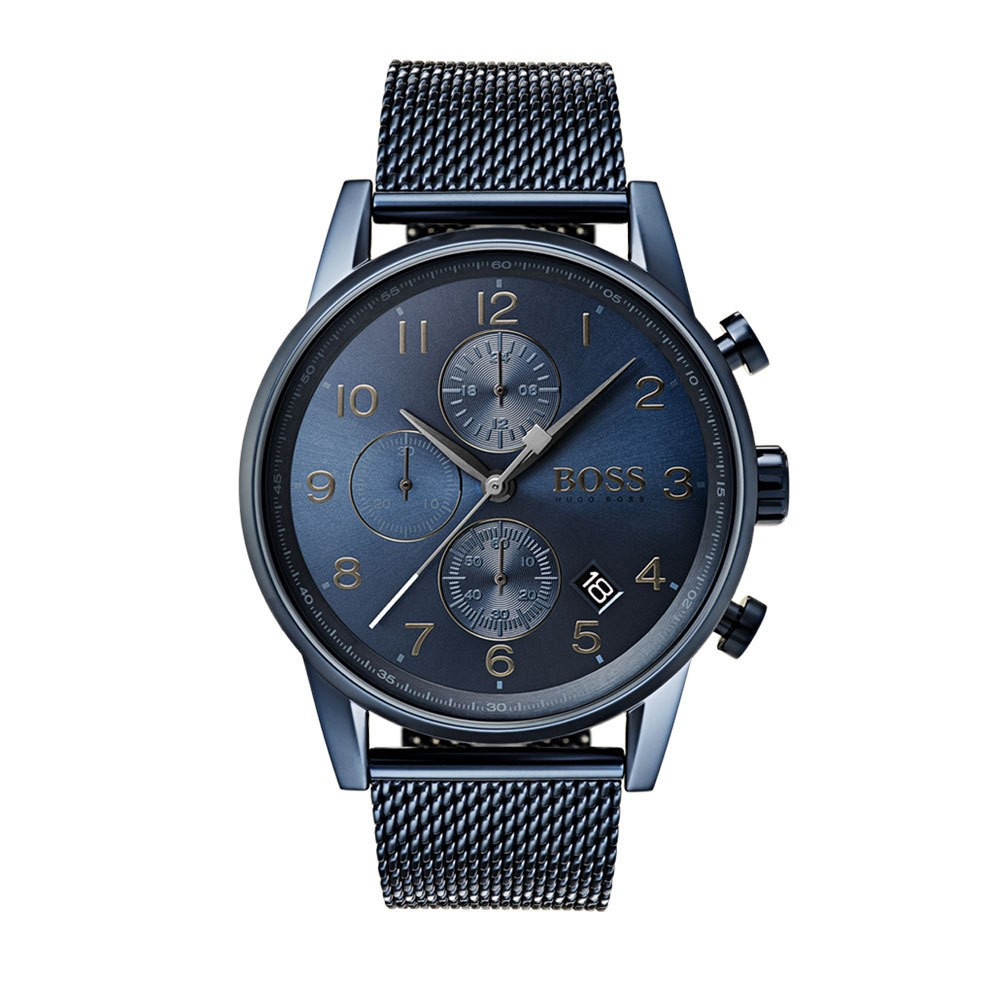 Hugo Boss HB1513538 Navigator Herenhorloge chrono 44 mm