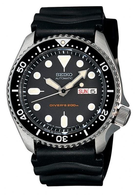 Seiko SKX007K1 horloge