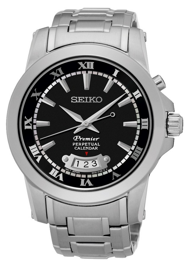 Seiko SNQ147P1 Premier horloge