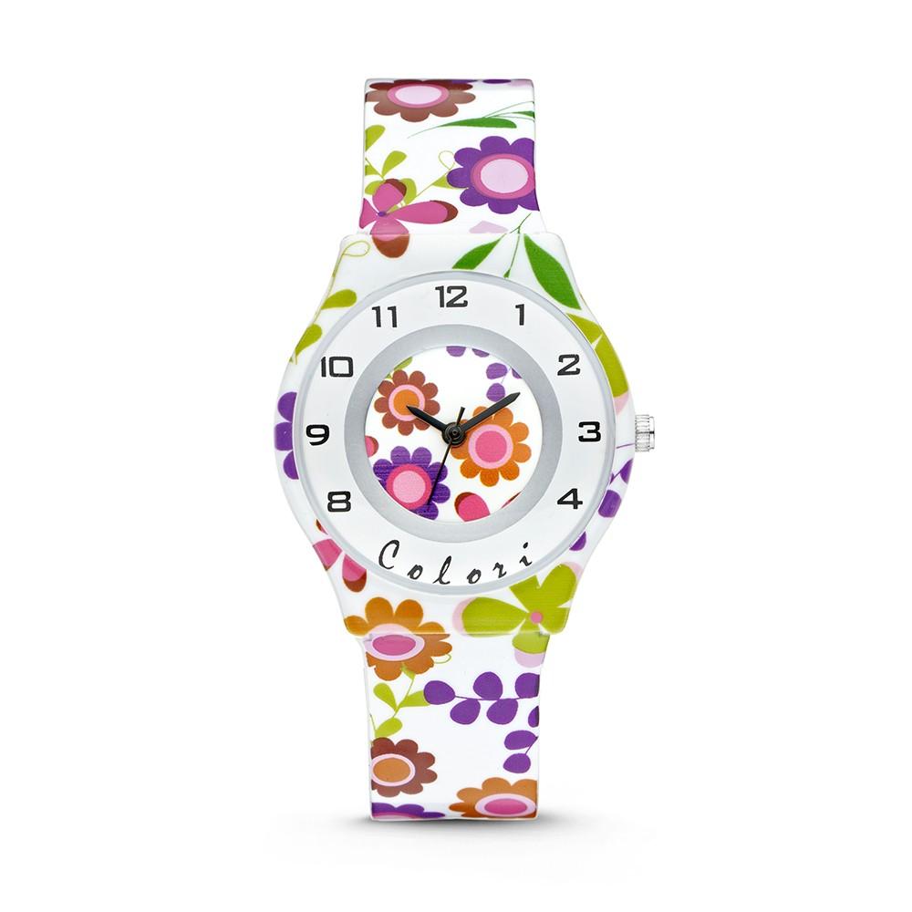 Colori 5-CLK044 - Horloge - 34 mm - Wit