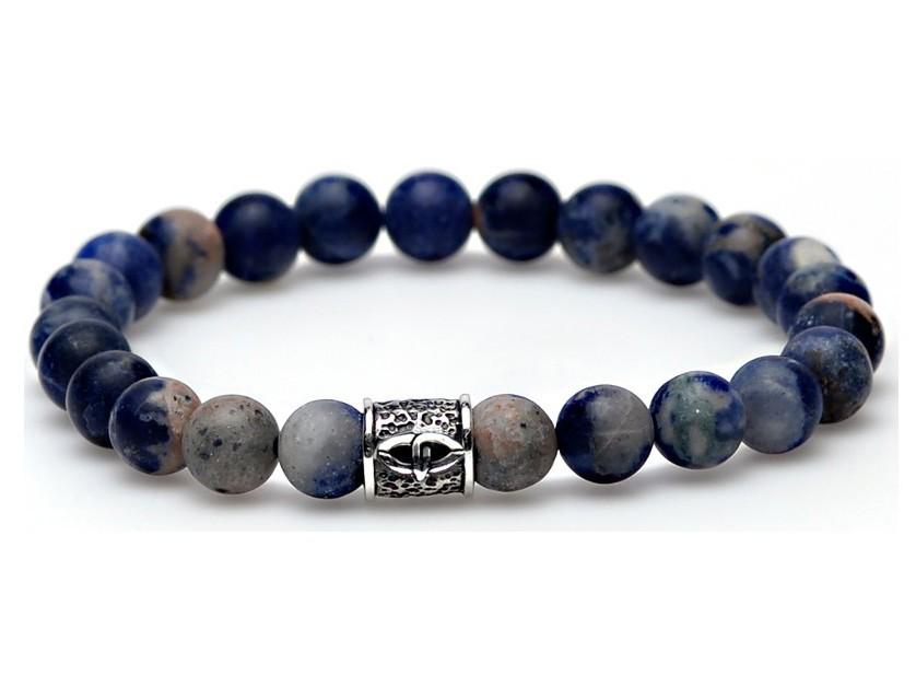 Karma Armband 'San Fransisco silver logo bead' 86440